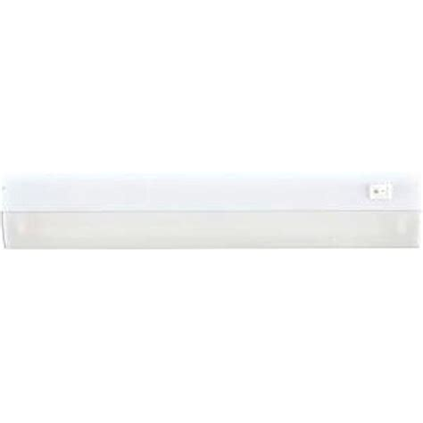 ge 18 in direct wire led cabinet light bar with hi