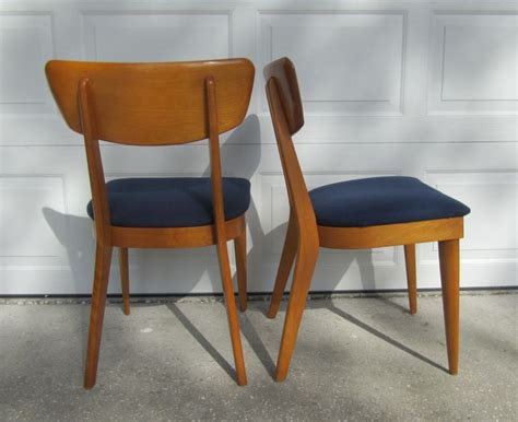6 Heywood Wakefield 1950s Chairs Vintage Mid Century Dining Atomic Modern Retro Noir Dining Chairs Wingback Accent Chair Massage For Home Sport Bleachers Evenflo Easy Fold High Lazy Boy Big Man Recliner Little Girls Outdoor Table And