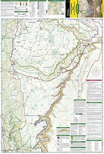 National Geographic Trails Illustrated Map, 262 Grand
