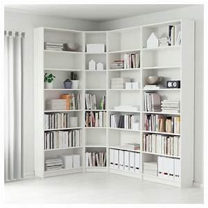 Bibliothèque D Angle Ikea : billy biblioth que blanc 215 135 x 28 x 237 cm ikea ~ Melissatoandfro.com Idées de Décoration