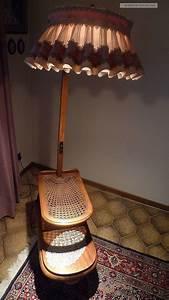 Glastisch Mit Holz : stehlampe leselampe nostalgie lampe mit tisch holz glastisch alt bitte lesen ~ A.2002-acura-tl-radio.info Haus und Dekorationen