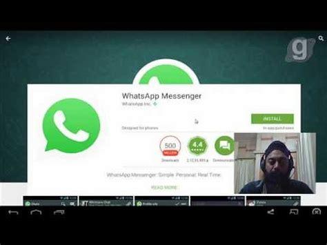 whatsapp tutorial how to install whatsapp cross platform mobile messaging app