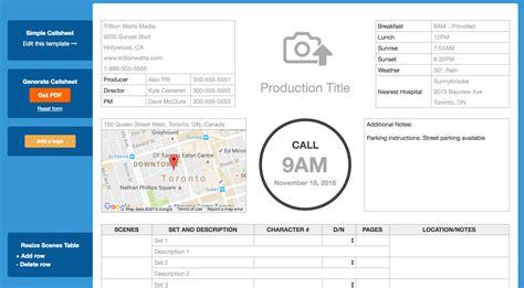 simple call sheet simple call sheet kanak filmmaker educator adventurer