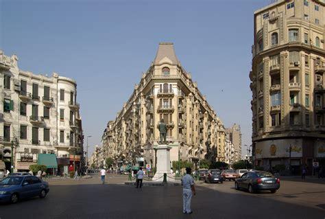 File:Kairo Midan Talaat Harb BW 2.jpg - Wikimedia Commons