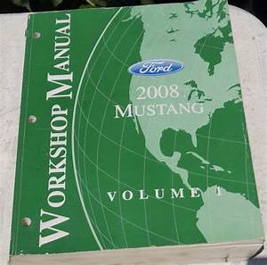 Sell Authentic 2008 Ford Mustang Oem Service Shop Manual