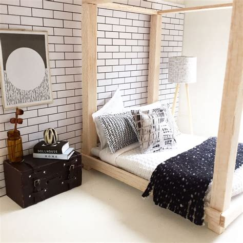 25+ Bästa Modern Dollhouse Furniture Idéerna På Pinterest