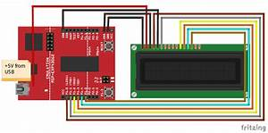 Interfacing Lcd With Msp430g2 Launchpad