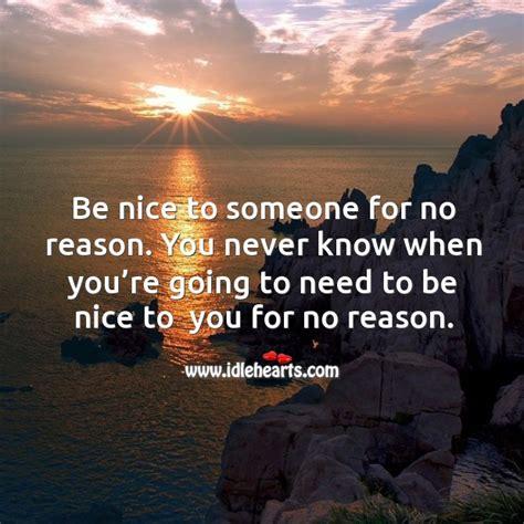 nice     reason