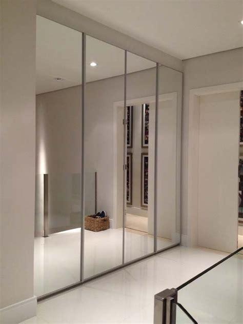 mirror door ideas  pinterest mirrored closet