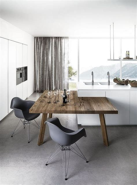table ilot centrale cuisine quelle table pour une cuisine avec ilot central cuisine