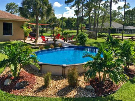 Semi Inground Pool   Pool Factory