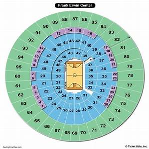 Frank Erwin Center Seating Chart