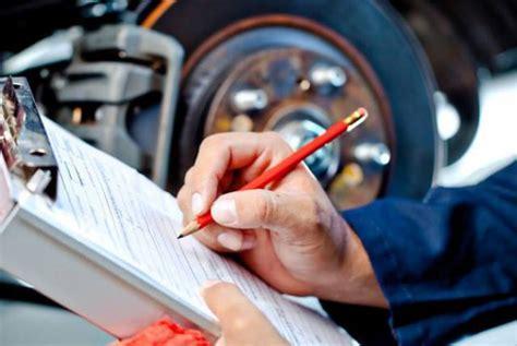 bureau inspection automobile auto inspection checklist