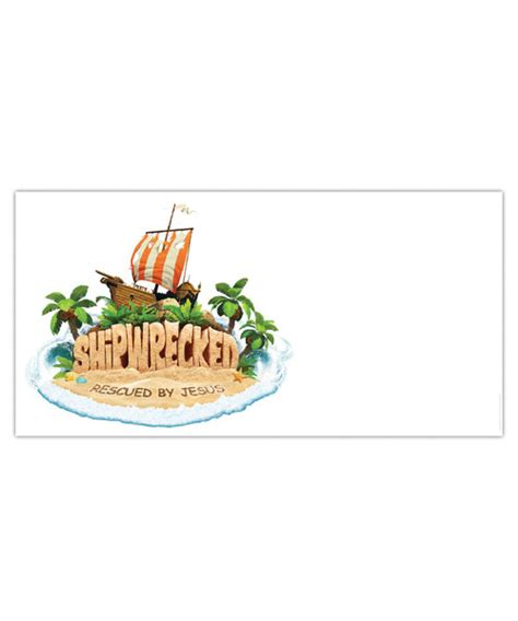 logo outdoor banner shipwrecked vbs