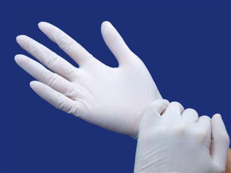 history  latex gloves