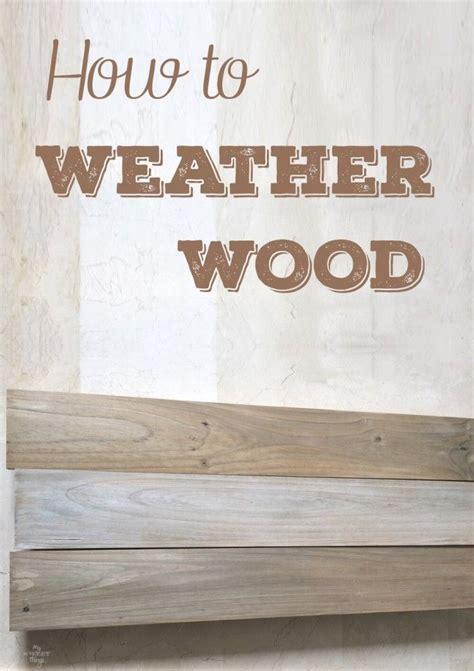wood weather sweethings