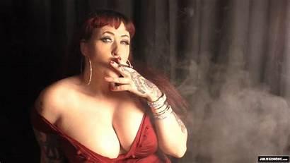 Smoking Julie Simone Vs120s Redhead Knows Simones