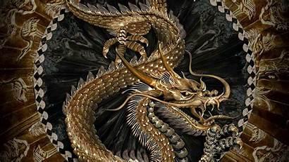 Dragon Chinese China Filosofi Makhluk Dalam Backgrounds