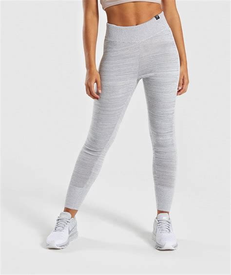 Piero Jogger Knit Grey gymshark time out knit joggers light grey bottoms