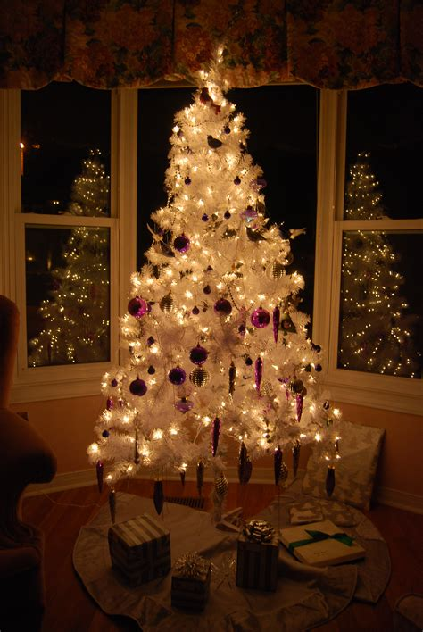 white christmas tree pictures