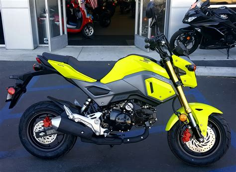 New 2017 Honda Grom Motorcycles In Carson, Ca