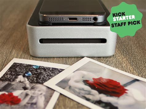 smartphone polaroid printer snapjet turn your smartphone into a polaroid printer