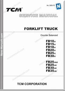 Tcm Forklift Fb10