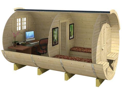 outdoor heater log cabin barrel cing pod or office