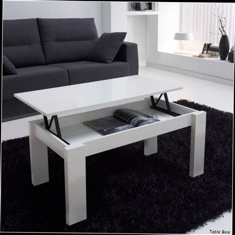 Table Basse Blanche Laque Table Basse Blanc Laque