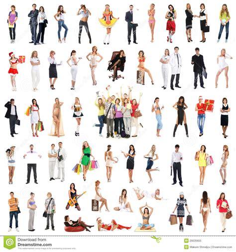 een collage van vele verschillende mensen die  kleren