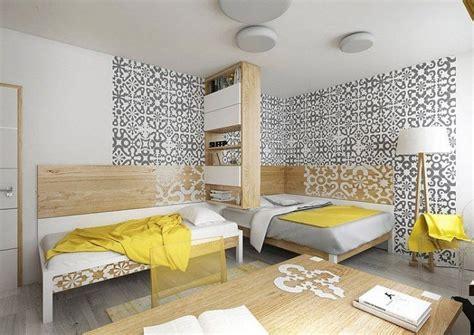 papier peint multicolore chambre chambre ado 22 idées sur la décoration pour filles et garçons