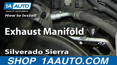 replace exhaust manifold   chevy suburban youtube