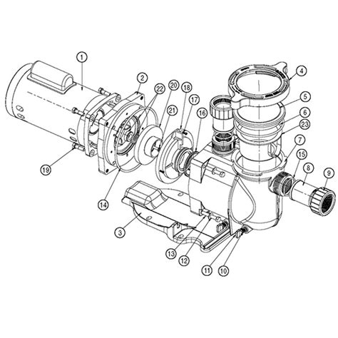 Superflo Diagram Pentair Pump