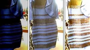 des scientifiques se sont penches sur le mystere de la With la robe qui change de couleur