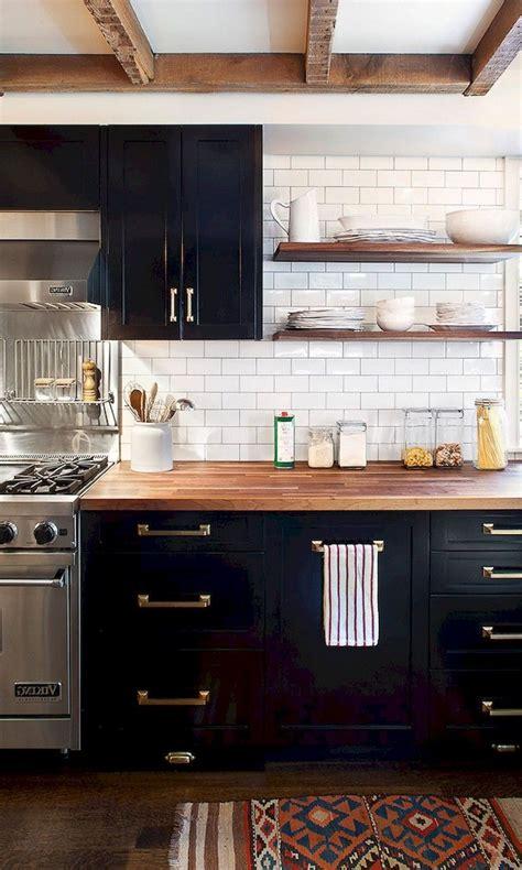 black and kitchen cabinets 59 marvelous black kitchen cabinets design ideas