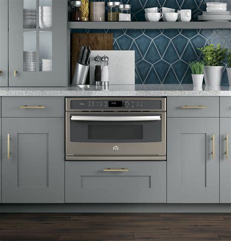 ge cafe series built  microwaveconvection oven cwbslss ge appliances