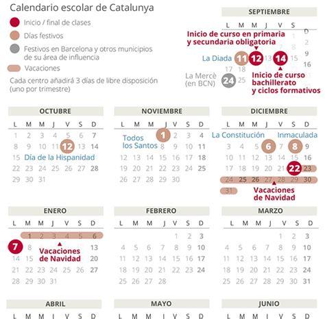 Hay 14 días festivos en cada municipio, de los que 11 son de designación autonómica, uno elegido por el cabildo en cada isla y los dos. Barcelona Calendario Escolar 2021 Catalunya | Calendar 2021
