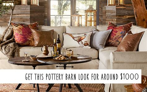 pottery barn houston pottery barn knockoff fall living room on a budget