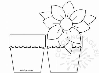 Card Flower Mother Mothers Coloring