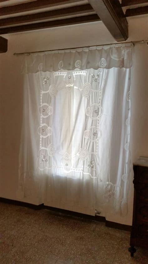 tenda con bastone tenda romantica ricamata su bastone tende da