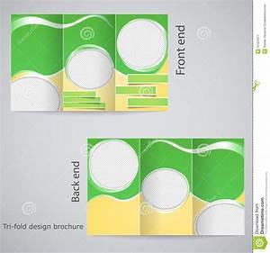 free templates for catalogue design - tri fold brochure design stock vector illustration of