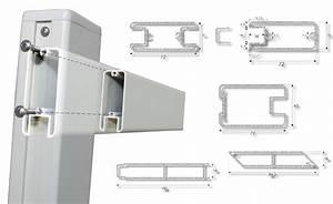 Profilé Aluminium Pour Veranda Vente Particulier : portails battants thorign 79 france sarl jamwood ~ Melissatoandfro.com Idées de Décoration