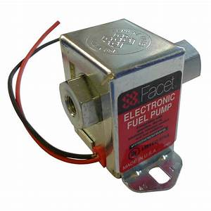 Facet Solid State Electric Fuel Pump 1 5-4 Psi