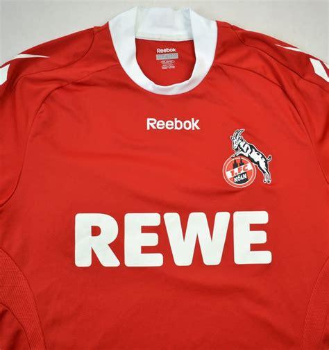 Februar 1948 aus dem zusammenschluss der beiden fußballvereine kölner bc 01 und spvgg sülz 07. 2008-09 1 FC KOLN SHIRT L Football / Soccer \ European ...