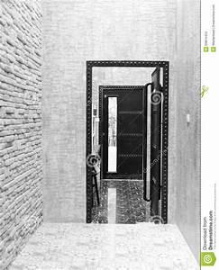 porte interieure noire idees novatrices de la conception With porte de garage enroulable et portes interieures noires