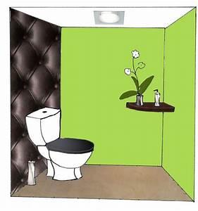 stunning deco wc vert ideas joshkrajcikus joshkrajcikus With couleur de peinture pour wc 4 deco wc originale ciloubidouille