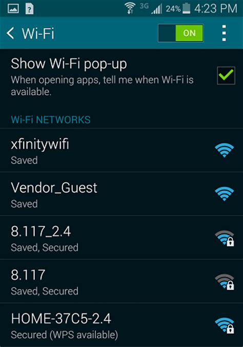how to wifi on android xfinity wifi connecting your devices to xfinity wifi