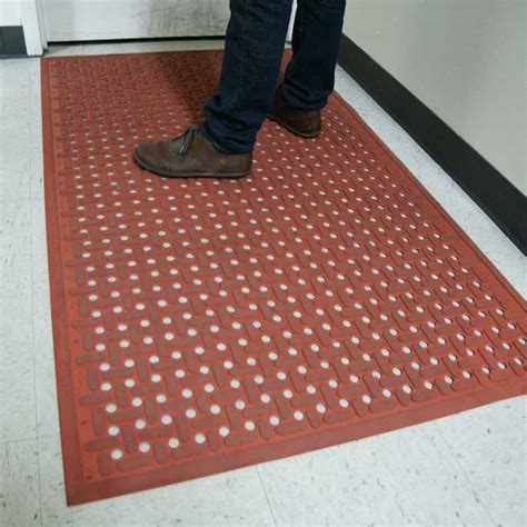 black non slip quot kitchen mat quot grease resistant rubber mat