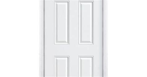 Home Depot Interior 6 Panel Doors : Masonite 6-panel Primed Smooth Fiberglass Entry Door With
