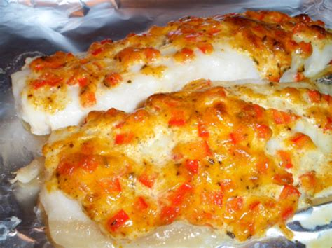 baked flounder  herbed mayo  vermouth recipe